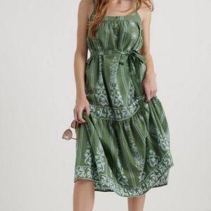 NWT Lucky Brand Nikki Midi Dress